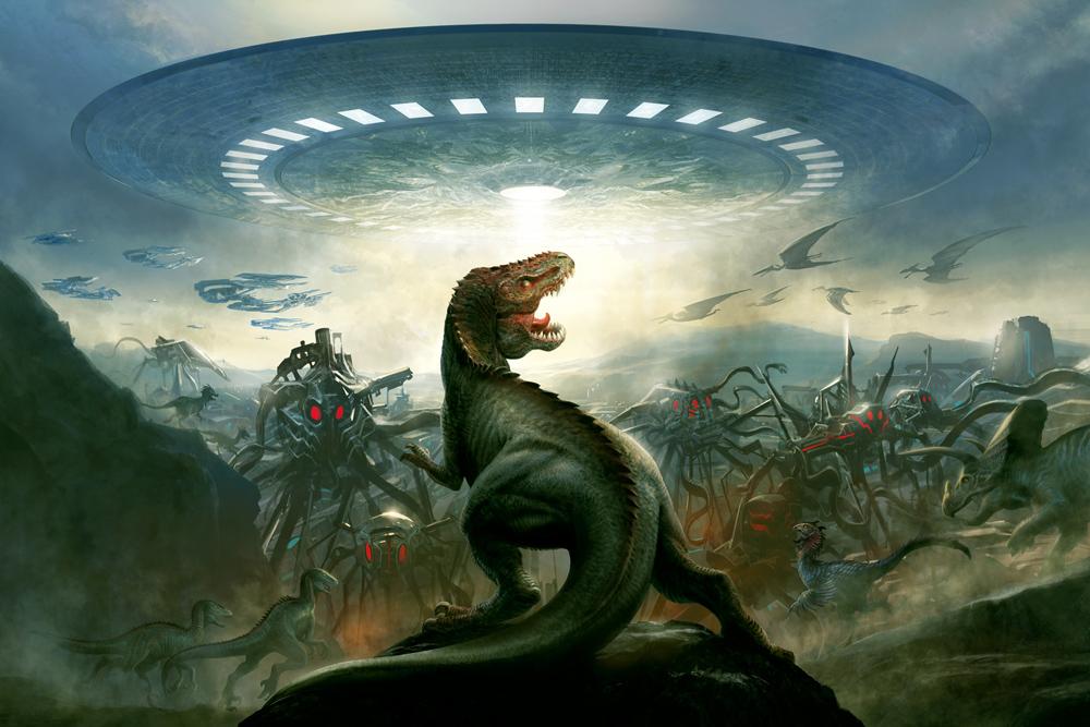 Barry sonnenfelds dinosaurs vs aliens liquid comics barry sonnenfelds dinosaurs vs aliens altavistaventures Choice Image
